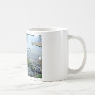 Dog and Ducks Coffee Mugs