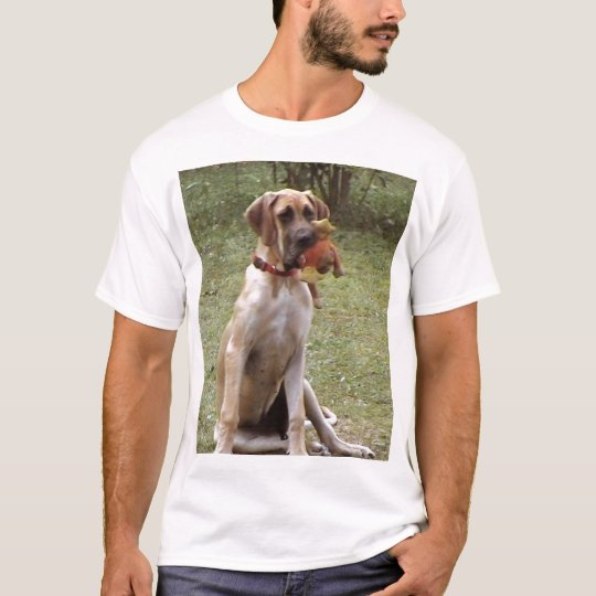 Dog and frog T-Shirt