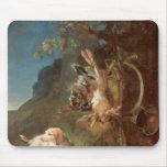 Dog and Game, 1730 Mousepad
