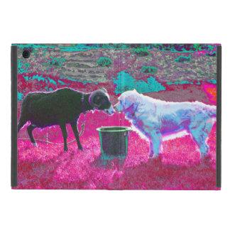 dog and goat! iPad mini covers