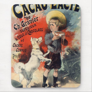 Dog and greedy little servant boy, ancient style m mouse pad