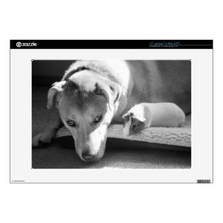 Dog and Guinea Pig 15 Inch Laptop Skin