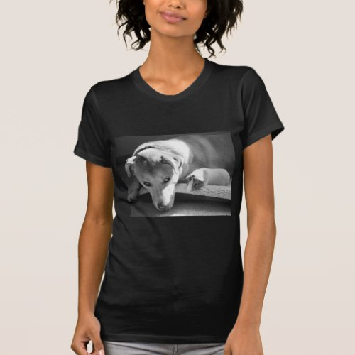Dog and Guinea Pig T-Shirt