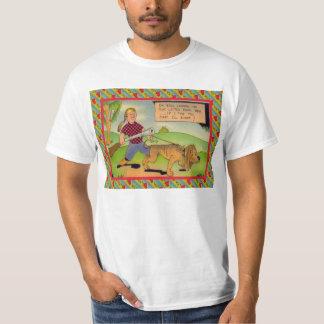 Dog and owner hunting shirt