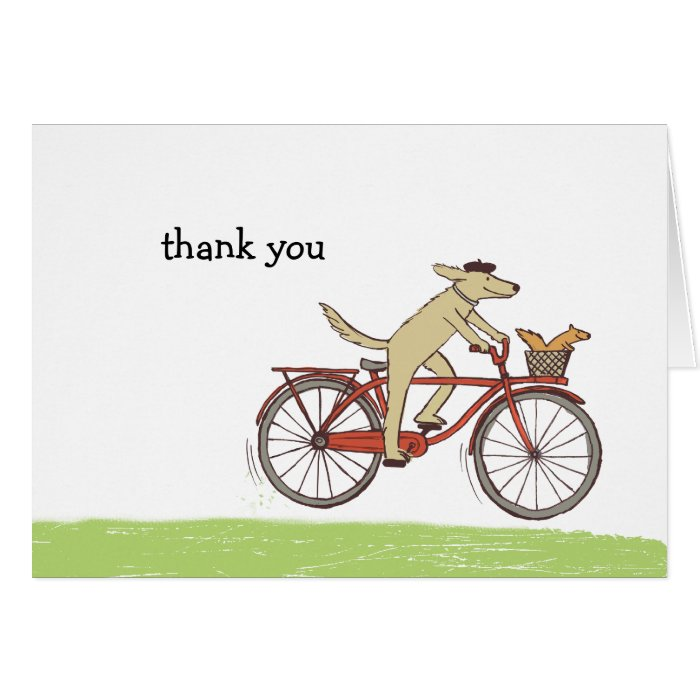 Dog and Squirrel Card