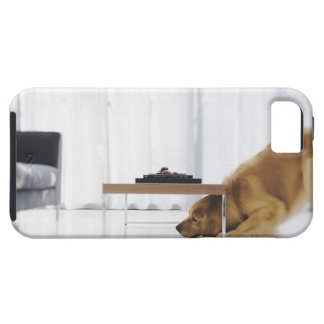 Dog and table iPhone 5 case