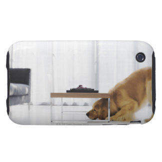 Dog and table tough iPhone 3 cover