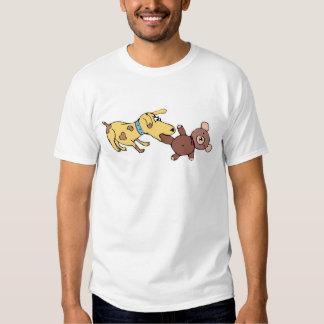 Dog and Teddy Bear T-shirt