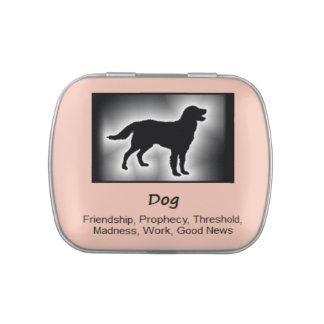 Dog Animal Spirit Meaning Collectible Candy Tins