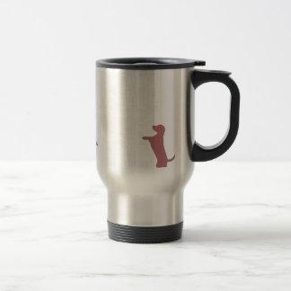 Dog Anxiety Socially Awkward Party Shirt Travel Mug