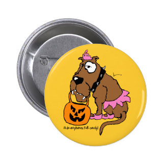 Dog Anything For Candy 2 Inch Round Button
