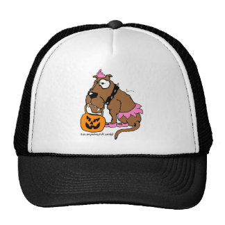 Dog Anything For Candy Trucker Hat