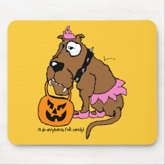Dog Anything For Candy Mouse Pad