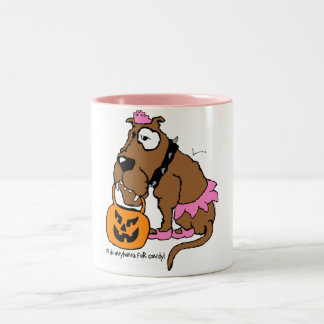 Dog Anything For Candy Mug