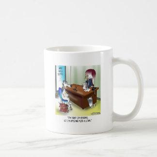 Dog Applies for a Loan Coffee Mug