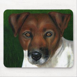 Dog Art - Jack Russell Terrier - Otis Mousepads