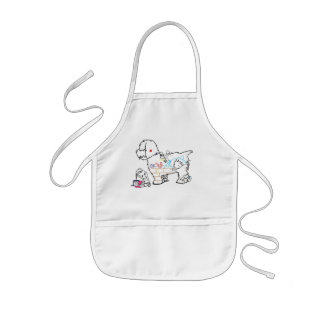Dog Art Kids' Apron