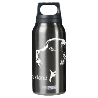 Dog Art Newfoundland Pup Sport Bottle