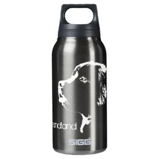 Dog Art Newfoundland Pup Sport Bottle