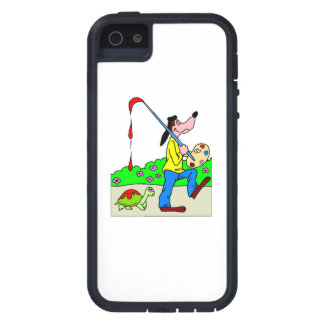 Dog Artist iPhone 5 Cover