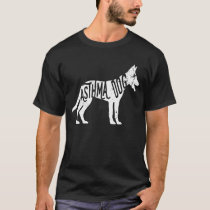 Dog Asthma Tshirt Animal Asthma Support