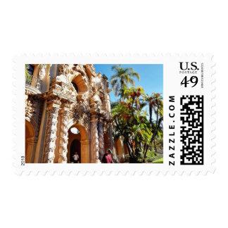 Dog At Balboa Park Stamp