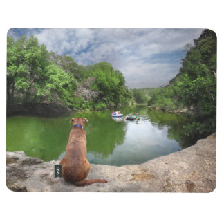 Dog at Barton Creek - Austin Texas Journal