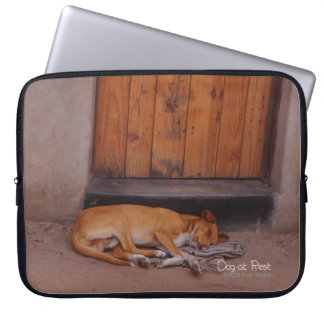 Dog at Rest Laptop Sleeve