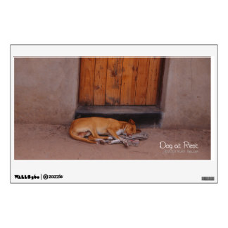 Dog at Rest Wall Decal
