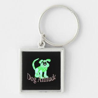 Dog Attitude Keychain