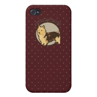Dog Australian Terrier Covers For iPhone 4