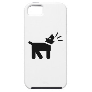 Dog Bark Pictogram iPhone 5 Case