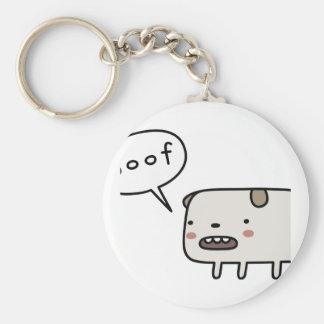 Dog Barking Keychain