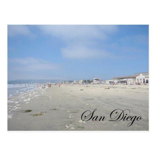 Dog Beach Postcard