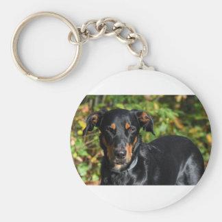 Dog Beauceron Keychain