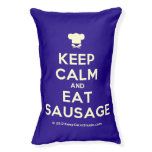 [Chef hat] keep calm and eat sausage  Dog beds small dog bed