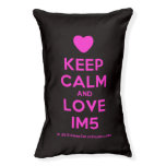 [Love heart] keep calm and love im5  Dog beds small dog bed
