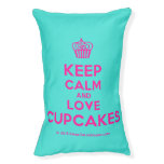 [Cupcake] keep calm and love cupcakes  Dog beds small dog bed