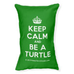 [Crown] keep calm and be a turtle  Dog beds small dog bed