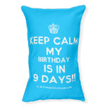 [Cupcake] keep calm my birthday is in 9 days!!  Dog beds small dog bed