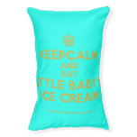 [Cupcake] keepcalm and eat little baby's ice cream  Dog beds small dog bed