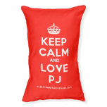 [Crown] keep calm and love pj  Dog beds small dog bed
