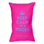 [Crown] keep calm i'm a pisces  Dog beds small dog bed