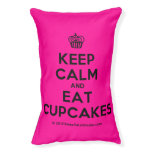 [Cupcake] keep calm and eat cupcakes  Dog beds small dog bed