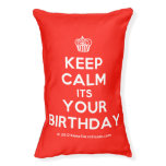 [Cupcake] keep calm its your birthday  Dog beds small dog bed