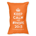 [Crown] keep calm and #hope 2013  Dog beds small dog bed