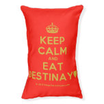 [Crown] keep calm and eat destinay♥  Dog beds small dog bed