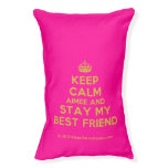 [Crown] keep calm aimee and stay my best friend  Dog beds small dog bed