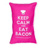 [Chef hat] keep calm and eat bacon  Dog beds small dog bed