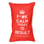 [Crown] f*#k calm today is result  Dog beds small dog bed
